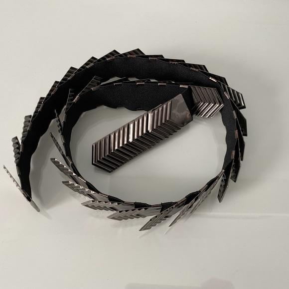 Metal Spandex Belt